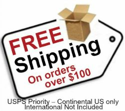 Free shipping Over $100 US only!