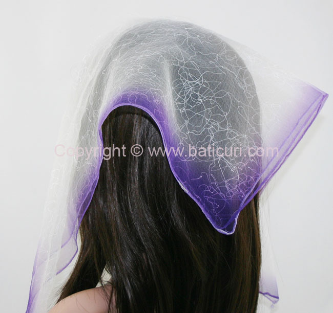 #07(Tt) SQ Two tone spider web-Dark purple