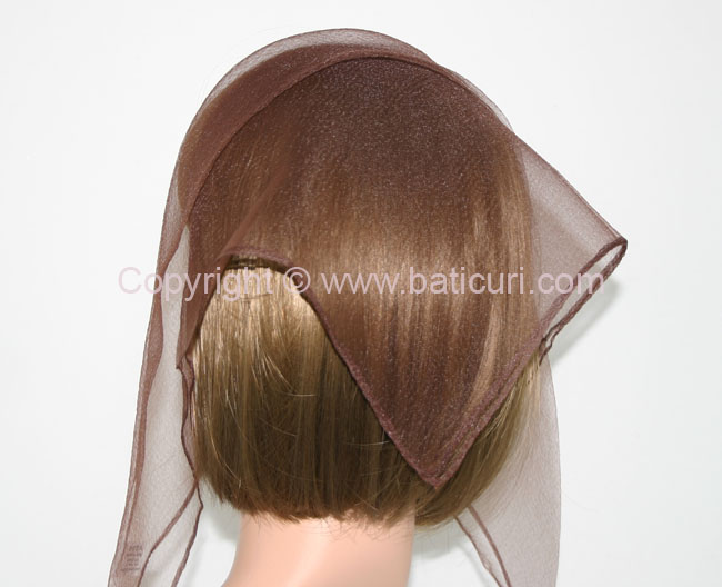 01(Small)-46 SQ Solid- Brown