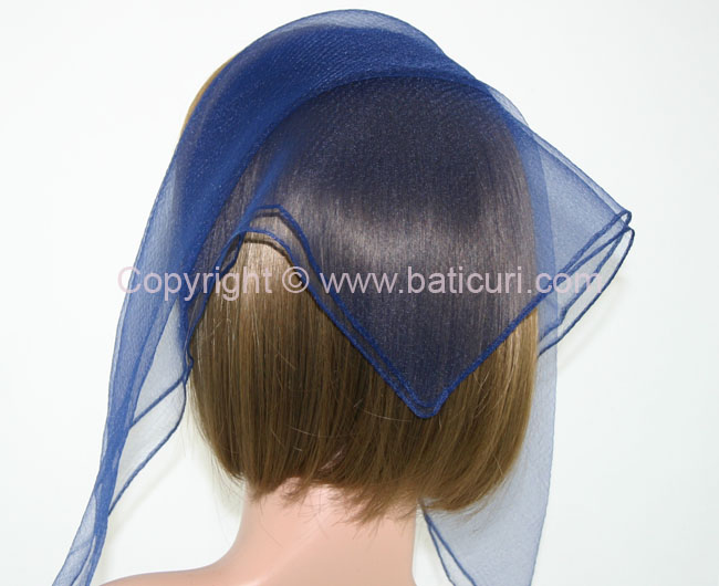 01 Small Square 04 Solid-Navy blue