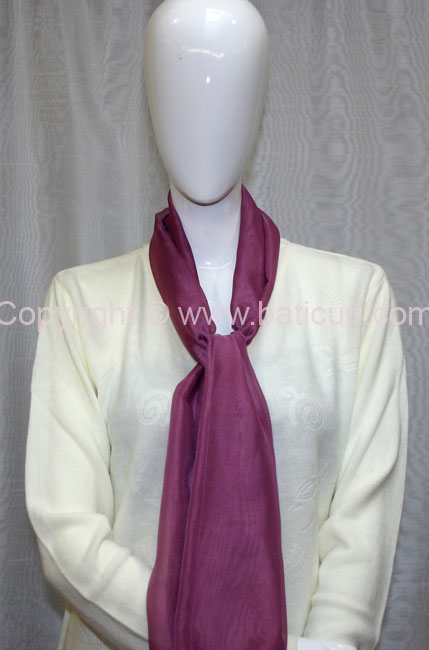80-07 Sheer Oblong Wide Solid Scarves-Dusty Pink
