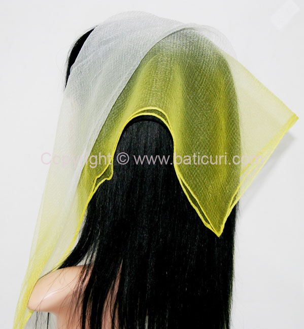 03-149 Two-tone Scarves-Yellow