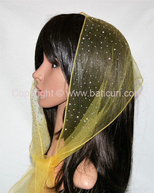 OB Nylon (N) Solid Waterfall Rhinestones- Golden Yellow