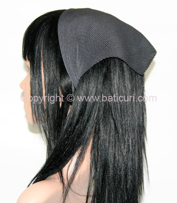 Pleated Italian- Charcoal (Deep Dark Grey)
