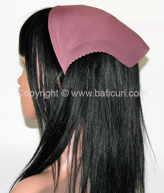 Pleated Italian- Mauve