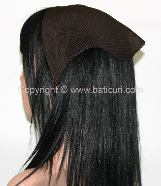 Pleated Italian- Chocolate Brown