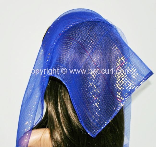 #15 SQ Nylon Dense Lurex Thread-Royal blue